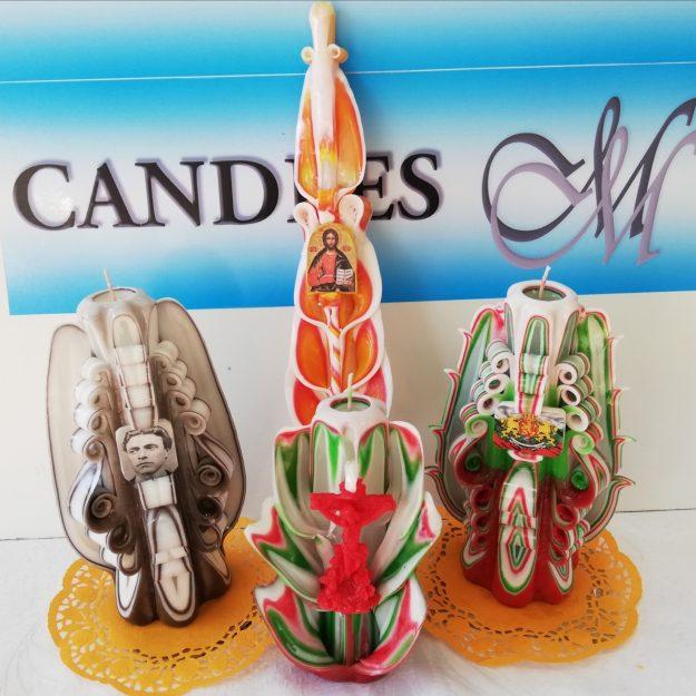 Artisan Miro's Carving Candles