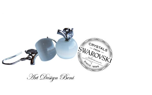 Сребърни бижута с кристали Swarovski